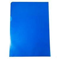 Muovitasku A4 110mic PP appelsiinipinta sininen, 1 kpl=100 taskua