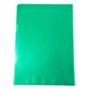 Muovitasku A4 110mic PP appelsiinipinta vihreä, 1 kpl=100 taskua