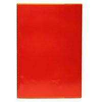 Vihkon suojakansi A4 muovi punainen, 1 kpl=30 kantta