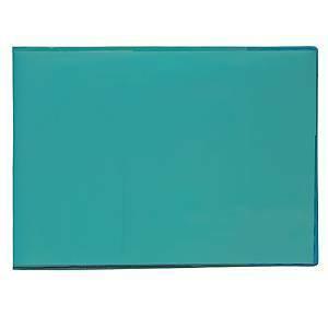 Vihkon suojakansi A5 muovi vaaka sininen, 1 kpl=30 kantta