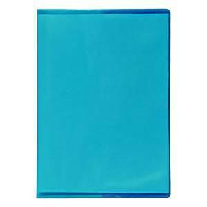 Vihkon suojakansi A6 muovi sininen, 1 kpl=30 kantta