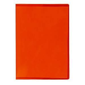 Vihkon suojakansi A6 muovi punainen, 1 kpl=30 kantta