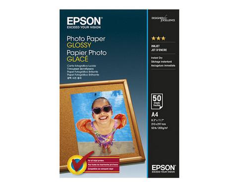 EPSON GLOSSY PHOTO VALOKUVAPAPERI A4 /50kpl