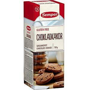Gluteeniton suklaakeksi 150g Semper
