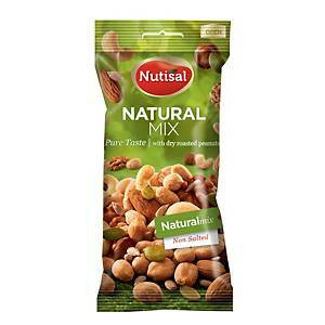 Nutisal Natural pähkinäsekoitus 60g, 1 kpl=14 pussia