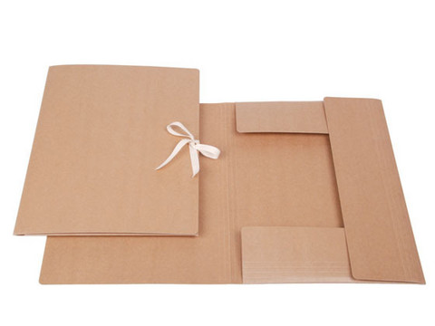 A2 kokoinen lievekansio (nauhakansio) 5kpl paketti