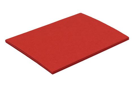 Mainoskartonki 50 x 70cm 270g punainen 20 kpl