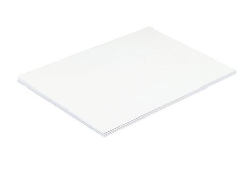 Mainoskartonki 50 x 70cm 270g valkoinen 20 kpl