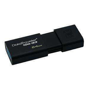 Muistitikku USB 3.0 64GB Kingston DT100 G3
