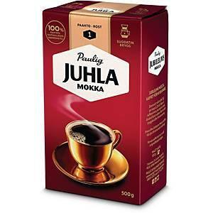 Juhla Mokka kahvi suodatinjauhatus vaalea paahto 500g