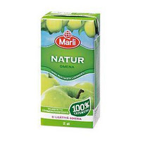 Marli Natur täysmehu omena 0,2L, 1 kpl=27 mehua
