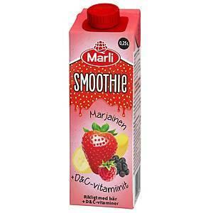 Marli smoothie Marjainen 2,5dl, 1 kpl=15 tölkkiä