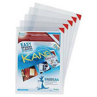 Tarratasku A4 Tarifold Kang Easy Clic, 1 kpl=5 taskuaku