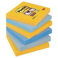 Post-it viestilappu 76 x 76mm New York, 1 kpl=6 nidettä