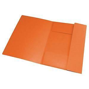 Kulmalukkokansio oranssi Oxford