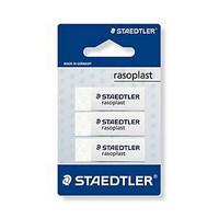 Staedtler Rasoplast 526 B pyyhemuovi blisteri,1 kpl=3 pyyhemuovia