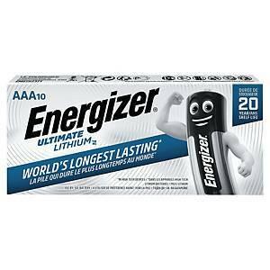 Litiumparisto AAA/LR3 Energizer Ultimate myyntierä 1kpl = 10 paristoa