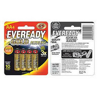 Eveready Gold AA/LR06 alkaliparisto, 1 kpl=4 paristoa