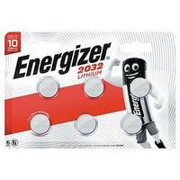 Energizer CR2032 nappiparisto 3V, 1 kpl=6 paristoa