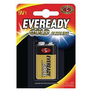 9V 6LR61 alkaliparisto Eveready Gold