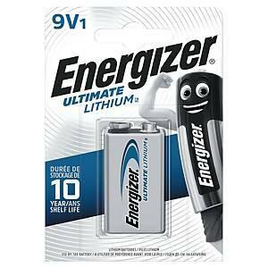 Energizer Ultimate litiumparisto 9V
