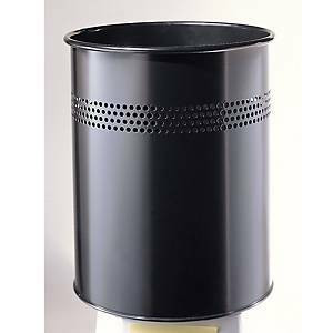 Roska-astia metalli 14,7L musta