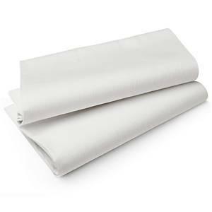 Valkoinen pöytäliina 1,27 x 2,20m valkoinen, 1 kpl=5 liinaa