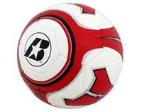 Jalkapallo 14oz koko 4 punainen/valkoinen