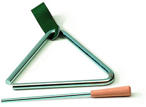 Heleä-ääninen triangeli, halkaisija 10 cm