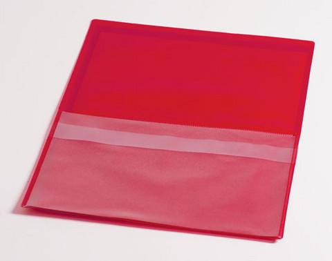 Huoltotasku avaintaskulla A4 punainen 50kpl laatikko