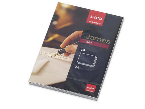 ELCO JAMES VELIN KORTTI A6 /20kpl