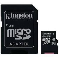 Muistikortti microSDXC 64GB adapterilla