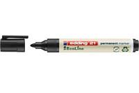 Merkintäkynä Edding 21 EcoLine 1,5-3mm musta 10kpl