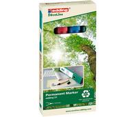 Merkintäkynä Edding 21 EcoLine 1,5-3mm värilajitelma 4-värisarja