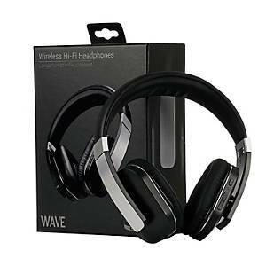 Langattomat kuulokkeet mikrofonilla Wave