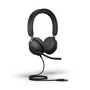 USB-A kuulokkeet Jabra Evolve2 40 MS Stereo