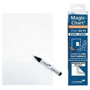 Valkotaulurulla blanko A4 Magic Chart