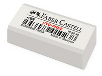 Pyyhemuovi Faber-Castell valkoinen 48 kpl/ltk