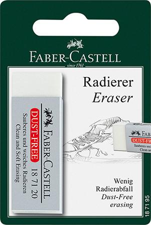 Pyyhekumi Faber-Castell pölyämätön, blister -pakattu