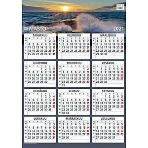 Maxi seinäkalenteri 2021 520 x 740 mm