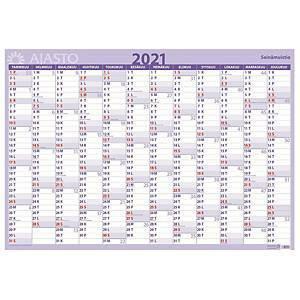 Seinämuistio 2021 seinäkalenteri 850 x 590mm