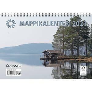 Mappikalenteri 2021 seinäkalenteri 250 x 352 mm
