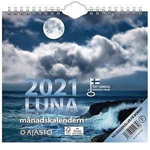 Luna seinäkalenteri 2021 200 x 180 mm