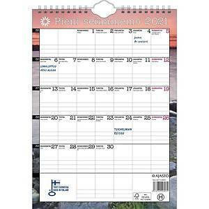 Pieni seinämemo seinäkalenteri 2021 210 x 290 mm