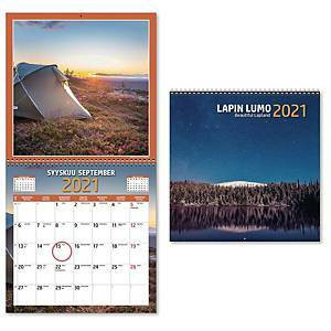 Lapin Lumo seinäkalenteri 2021 300x600 mm