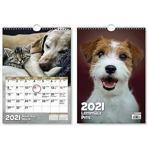 Lemmikit seinäkalenteri 2021 232 x 325 mm