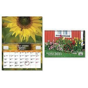 Puutarha seinäkalenteri 2021 300 x 400 mm
