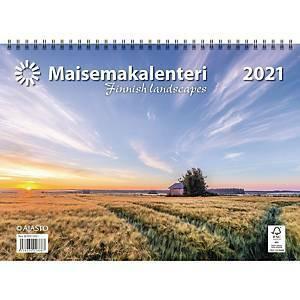 Maisemakalenteri 2021 290 x 420 mm