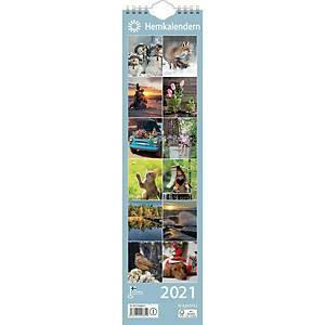 Ajasto Kotimuistio/Hemkalendern 2021 110 x 432 mm
