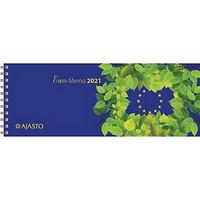 Euro Memo pöytäkalenteri 2021 255 x 95 mm